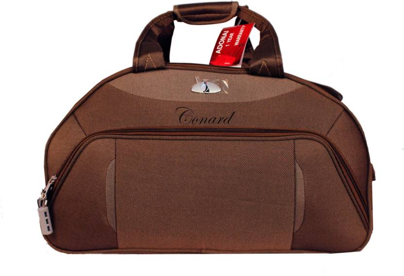 0f68f5ac5be7 Adonai Duffle Bag (Brown - 22 Inches) Duffel Strolley Bag Brown ...