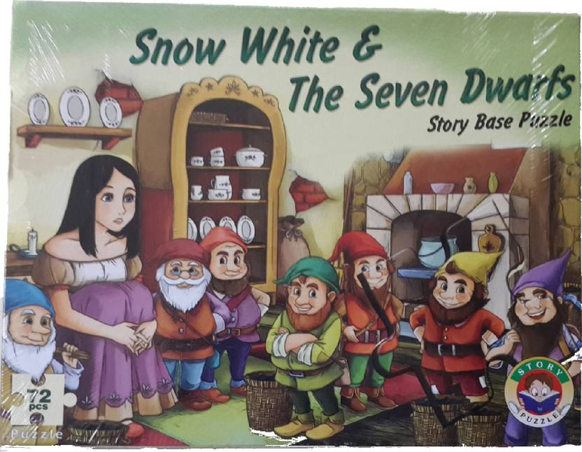 NILSEA , MMT Story Base Puzzle- Snow White & The Seven