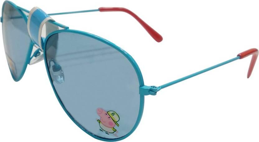 Buy Peppa Pig Aviator Sunglasses Blue For Girls Online Best Prices