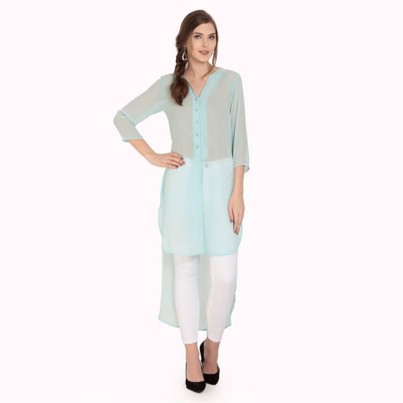 quality design 272ec 7a49b Abiti Bella Solid Women's Tunic - Buy Abiti Bella Solid ...