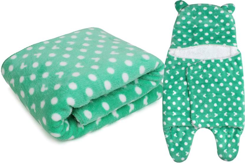 aff1278da My New Born Polka Crib AC Blanket - Buy My New Born Polka Crib AC ...