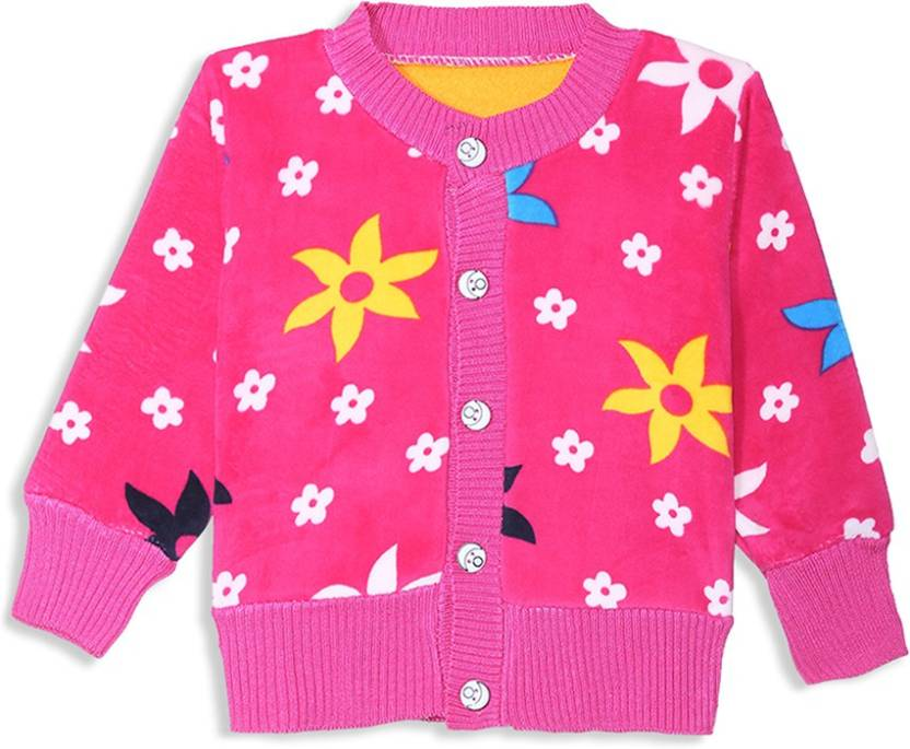 1c9fdc1db Camey Baby Boys   Baby Girls Button Floral Print Cardigan Price in ...
