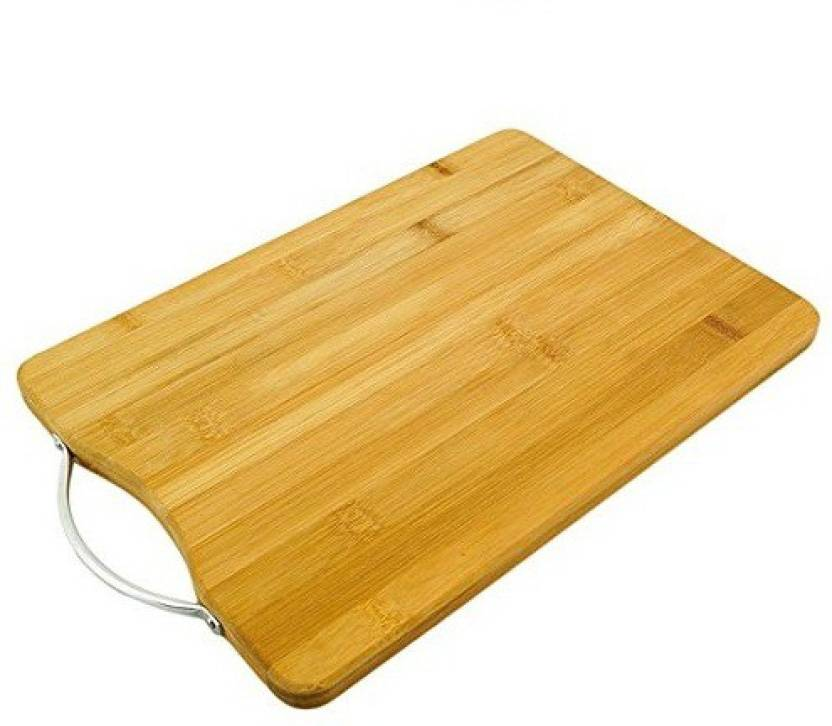 Dynore Wooden Chopping Cutting Board With Handle Wooden Cutting Board