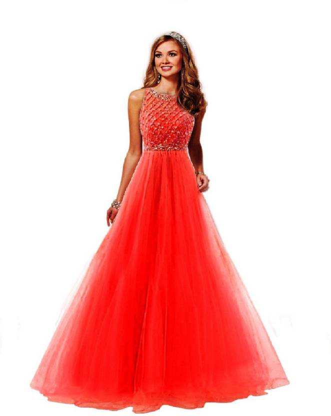 2169ad6c38ec0 color bucket Ball Gown