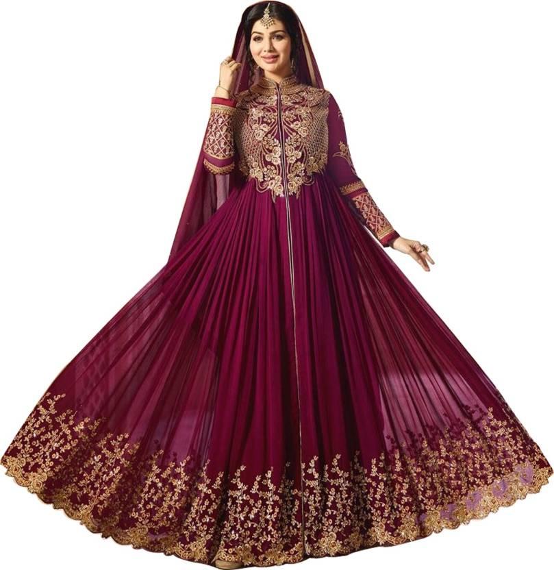 49f799aaa51 Siddeshwary Fab Flared Gown Price in India - Buy Siddeshwary Fab ...