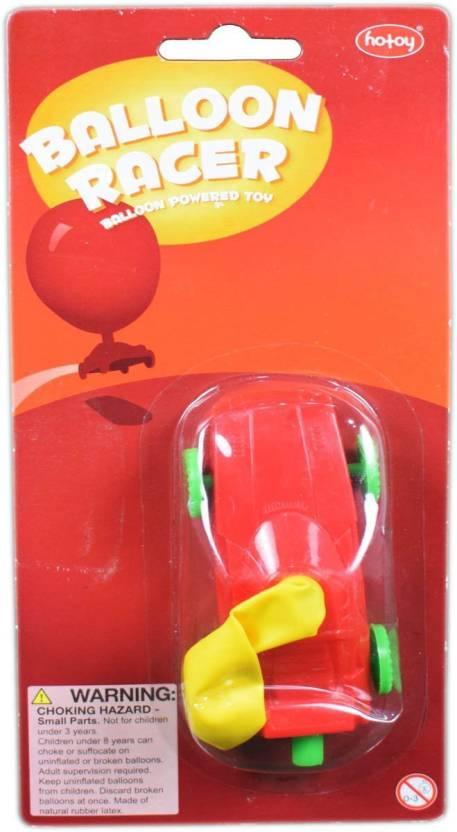 Tako Bell Balloon Racer Party Favor CAR For Kids Return Gifts Birthday Multicolor