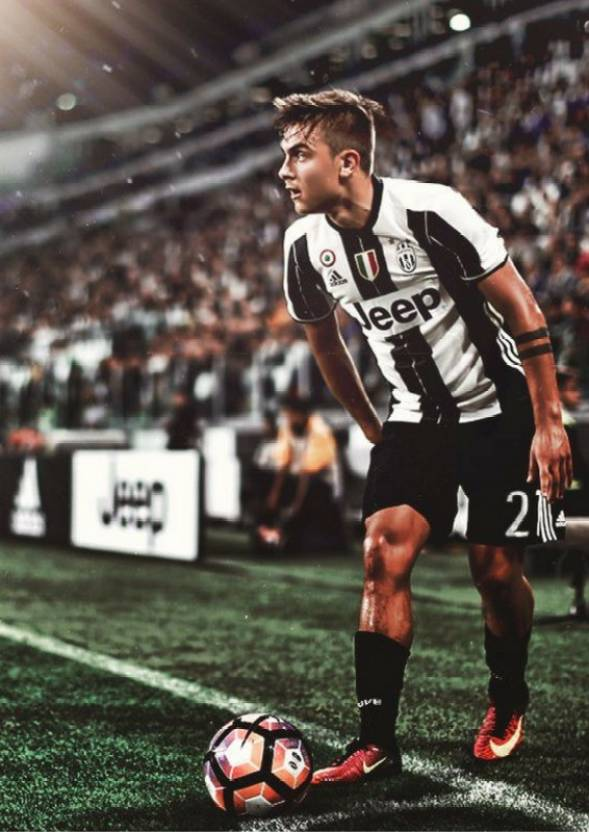 super popular a6e88 c7ed7 Dybala Juventus Poster Photographic Paper - Sports posters ...