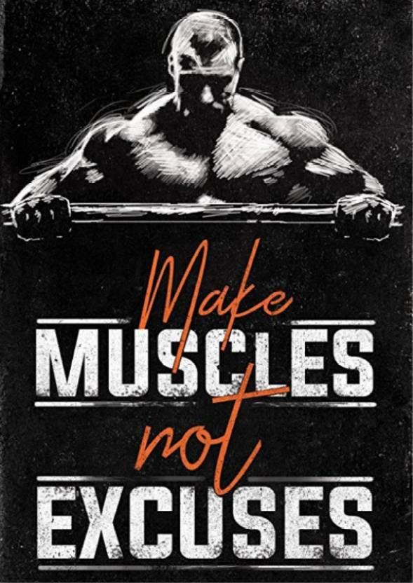 Gym Motivation Quote Poster 1 Photographic Paper Sports Posters