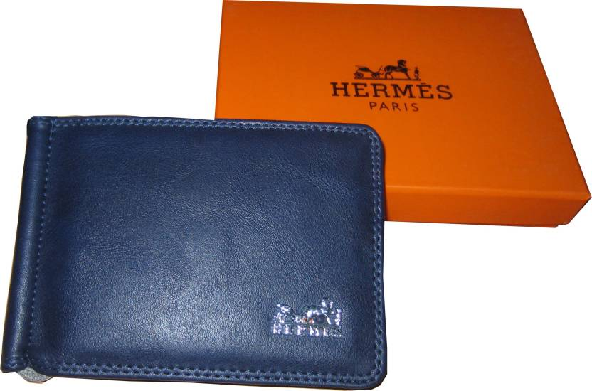 hermes Men Blue Genuine Leather Wallet blue - Price in India ... d16781dd63f19