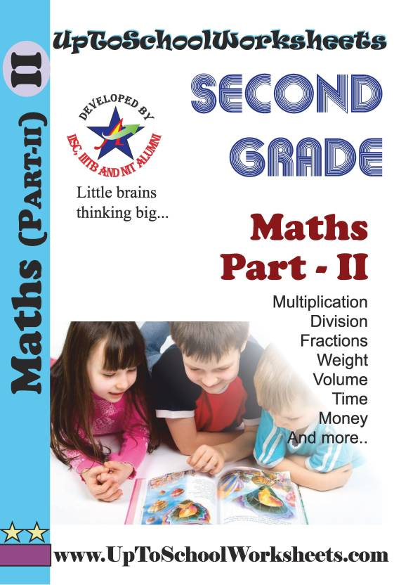 Class 2 Math Worksheets - Part 2 Workbook -CBSE/ICSE-With