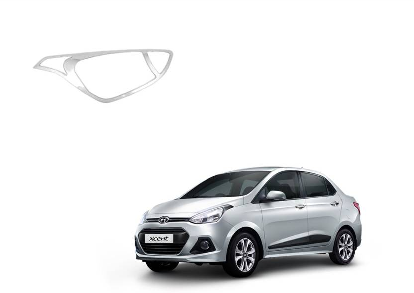Auto Spare Bazaar Hyundai Xcent 2013 2017 Head Lamp Chrome Cover