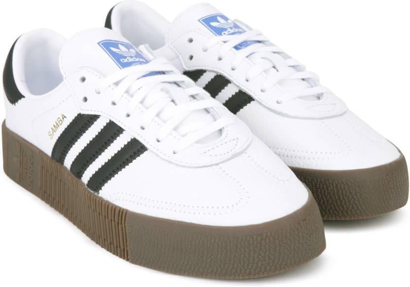 9613e356b9b2 ADIDAS ORIGINALS SAMBAROSE W Sneakers For Women - Buy FTWWHT CBLACK ...