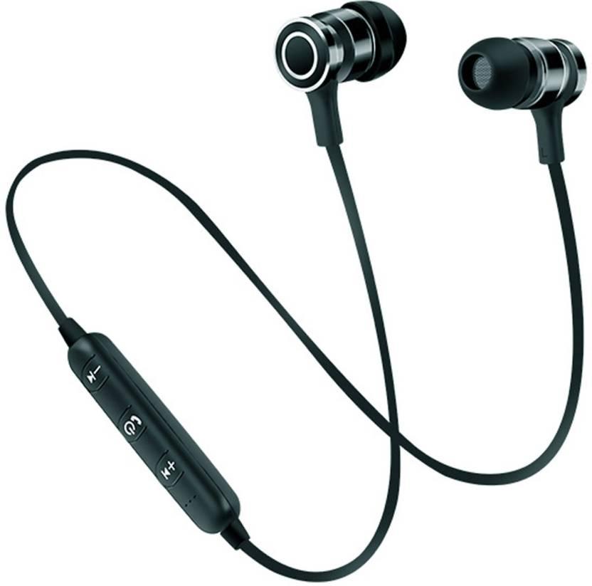 341291a0015 Blue Birds Bluetooth Wireless Headphone Sport Running Stereo Magnet Earbuds  With Microphone Earphone/headphone/