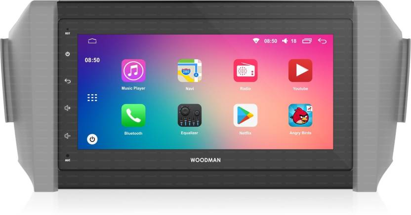 Woodman Sstic905 Toyota Innova Crysta 10 Touch Screen Android 1gb