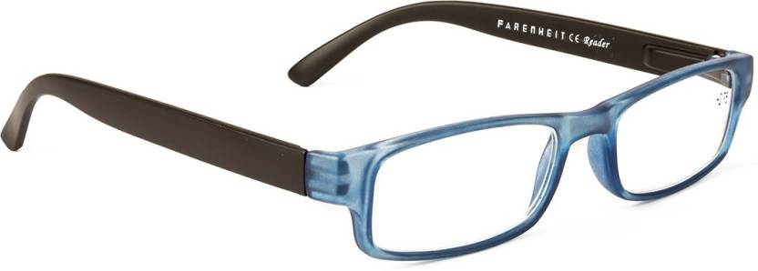 4769e38ce7 Farenheit Full Rim (2.25) Rectangle Reading Glasses Price in India ...