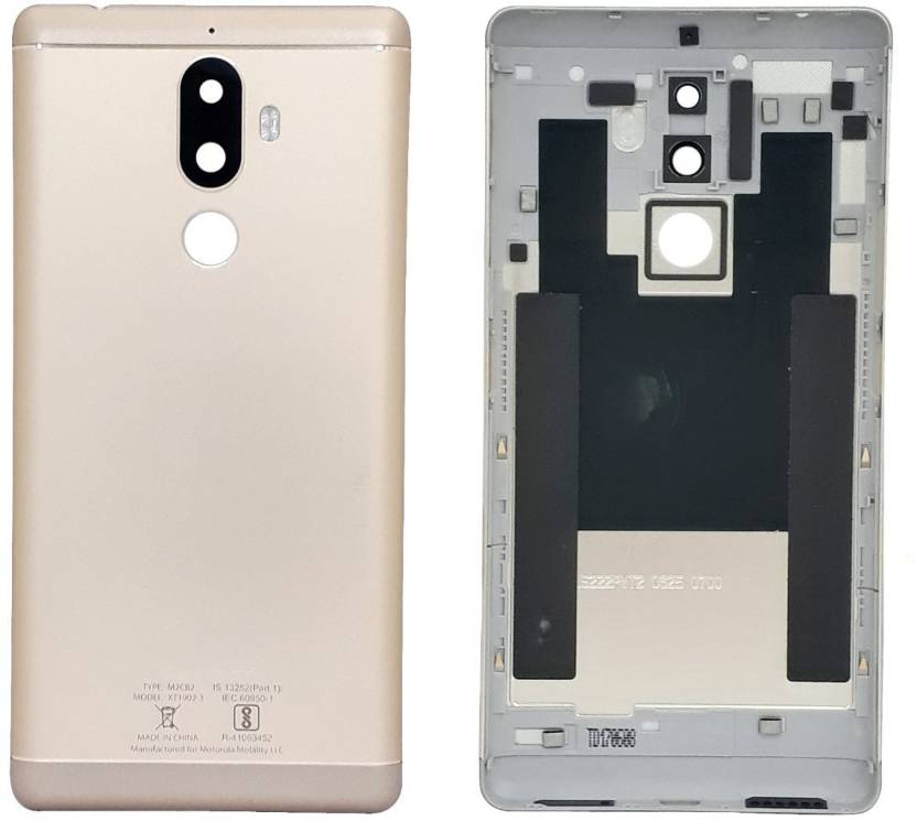 Pacificdeals Housing Body Panel for Lenovo K8 Note - Gold Back Panel