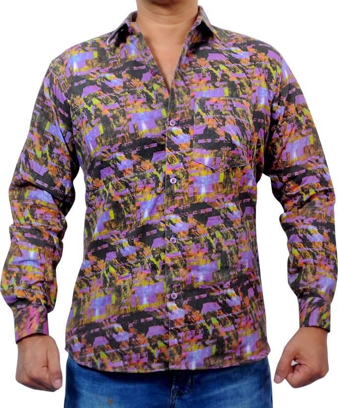 36a19c0c OSR COLLECTION Men Printed Party Shirt - Buy OSR COLLECTION Men ...