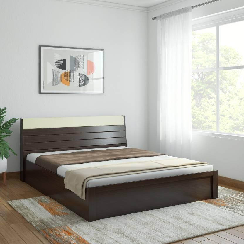 Spacewood Marko Engineered Wood Queen Hydraulic Bed