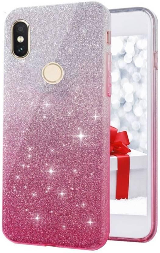 6bd92db064 Dream2Cool Back Cover for Glitter Sparkle Transparent Case, Soft ...