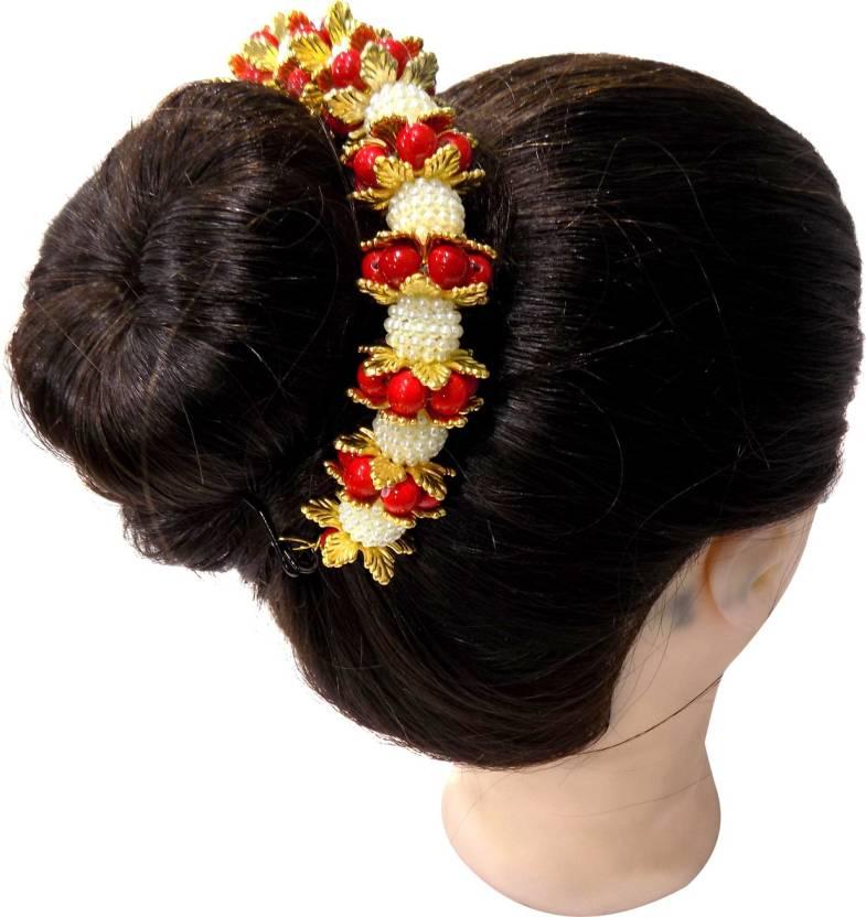 Boxo Hair Gajra Juda Hair Decoration Accessories For Wedding