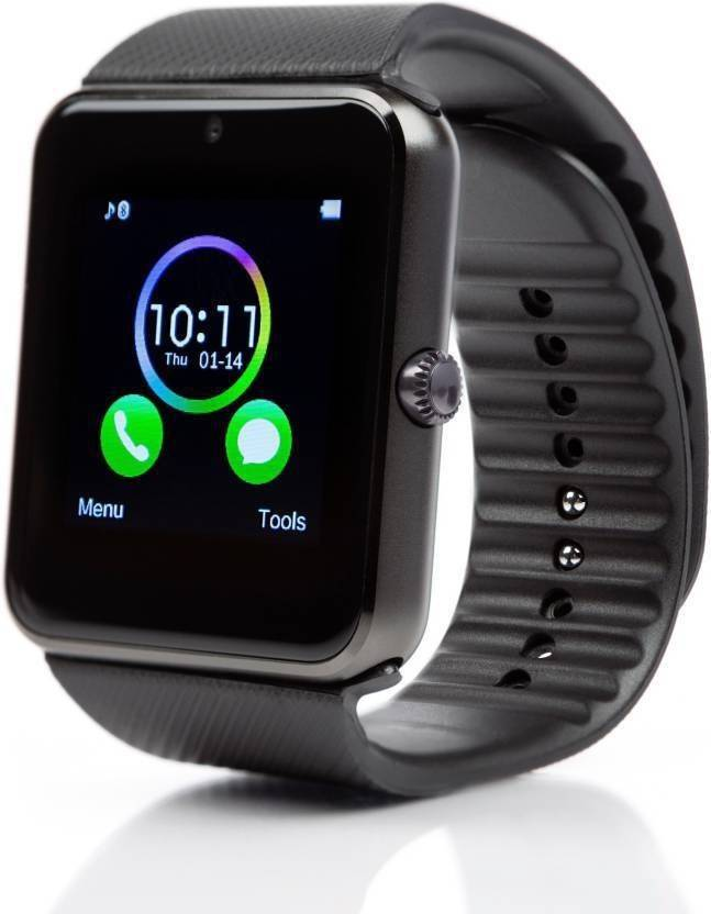 5ad680d5dcd Maxim Bluetooth Smart Watch GT08 Phone With Camera and Sim Card   SD Card  Support And