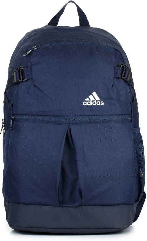 4e6c0910b780 ADIDAS Power Css Up 22 L Laptop Backpack Navy Blue - Price in India ...