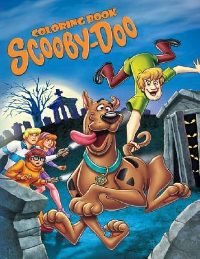 Scooby Doo Coloring Book - Buy Scooby Doo Coloring Book Online at ...