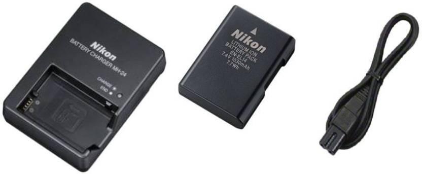Nikon EL14 + MH24 Camera Battery Charger