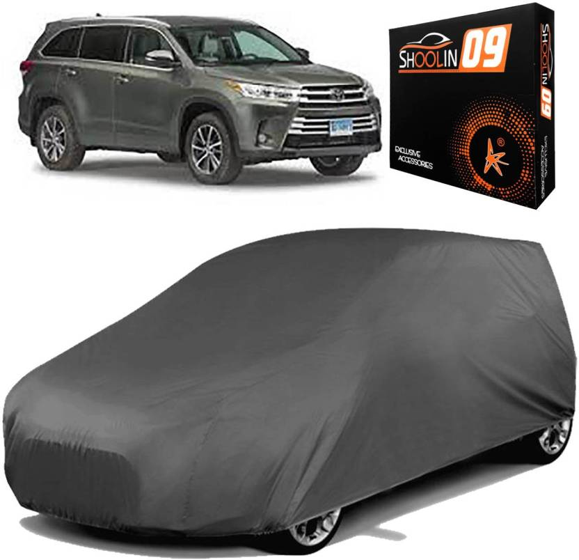 Shoolin09 Car Cover For Toyota Highlander Without Mirror Pockets