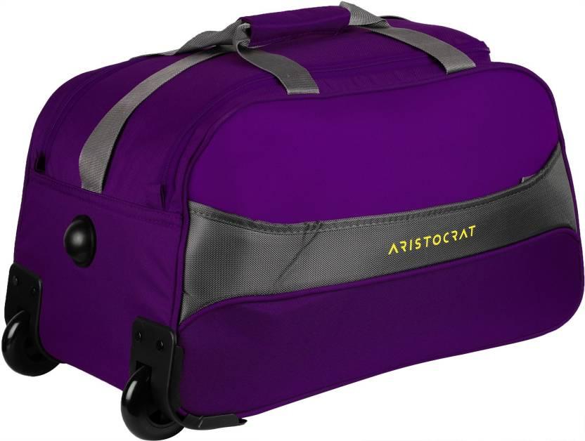 e13fea76a7e2 Aristocrat (Expandable) Draft Duffel Strolley Bag Purple - Price in ...