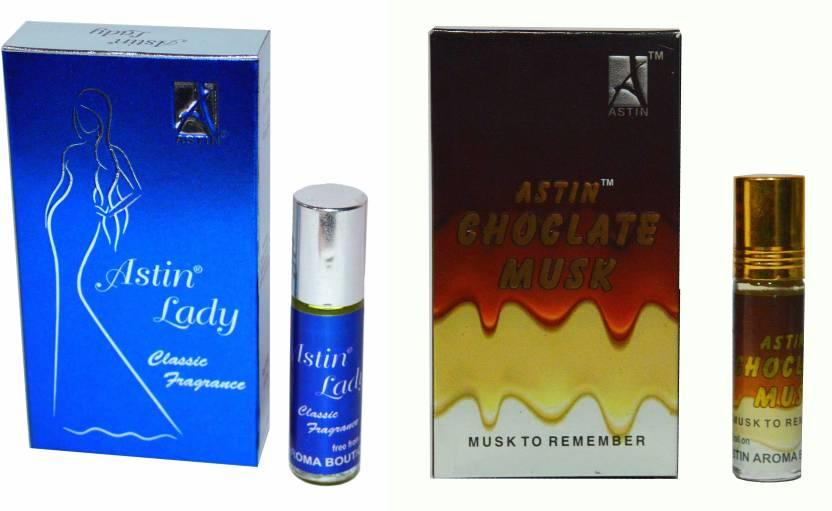 Buy Astin Chocolate Musk and Blue Lady UAE Edition Perfume - 12 ml