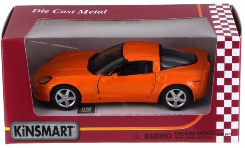Kinsmart 2007 Chevy Corvette Z06 5320WOR 1/36 Scale - 2007