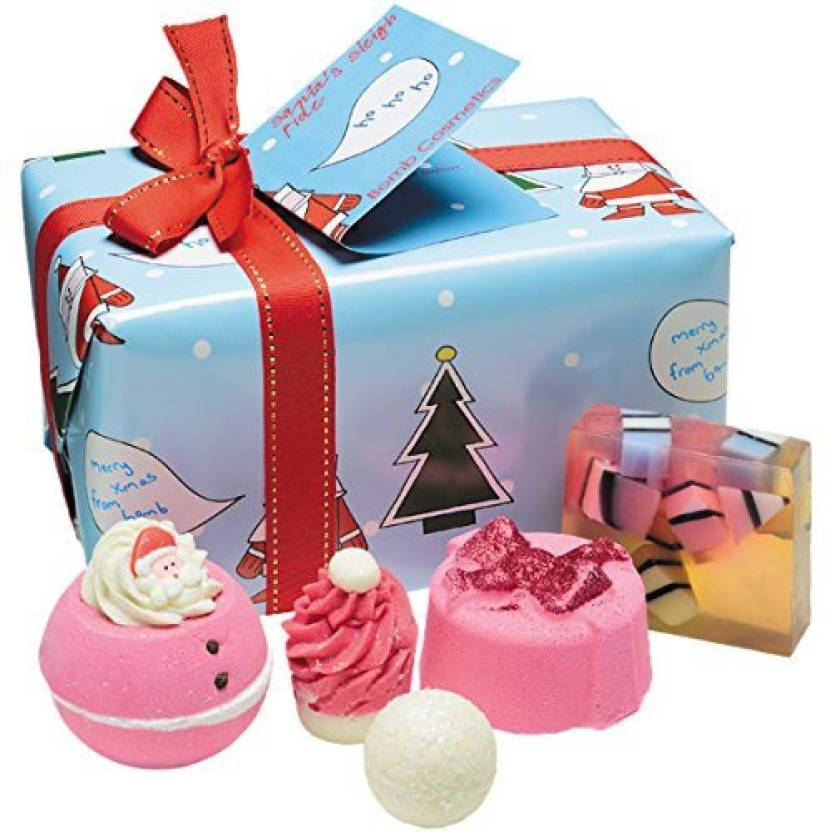 Bomb Cosmetics Santa S Sleigh Ride Handmade Gift Pack Price In India