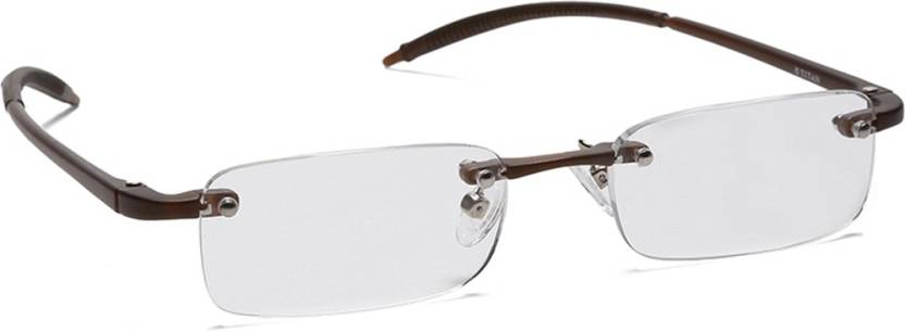 d97005c4008 Titan Rimless (+1.75) Rectangle Reading Glasses Price in India - Buy ...