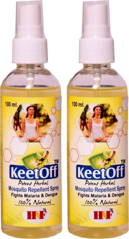 Keetoff Mosquito, Bug and Insect Repellent Body Mist for Babies (Pack of 2). Be the first to Review ...