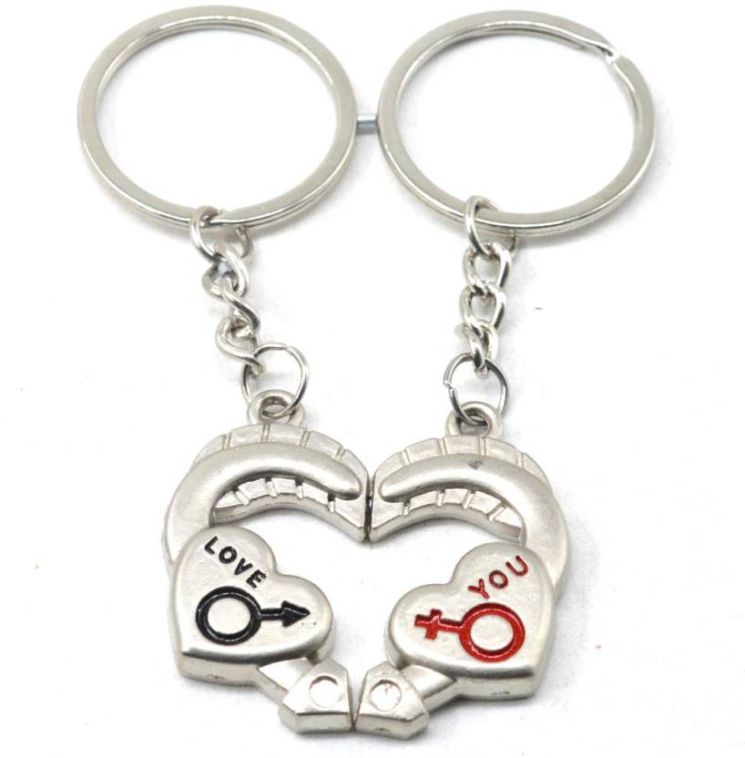 b08ec106e6 Faynci Love You Romantic Couple Key Chain for Gifting for Valentine  Day/Birthday/Friendship Day Key Chain Price in India - Buy Faynci Love You  Romantic ...