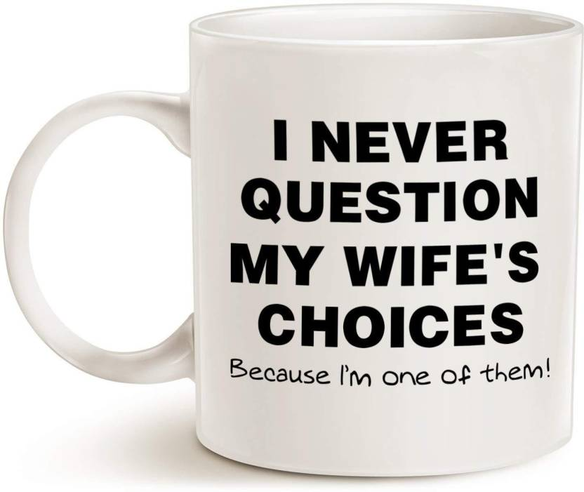 Devron Funny Quote Coffee For Husband Fathers Day Gifts One Of My