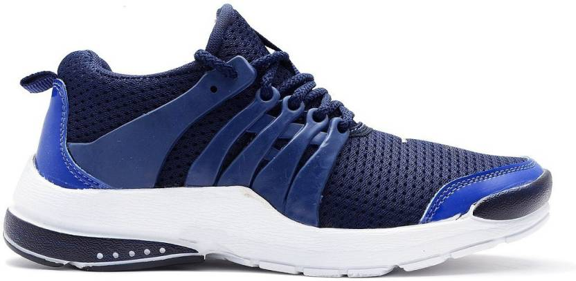6b7e6ed5c75 Yashwi Yashwi Men s Nitro Series Mesh Running Shoes(Navy Blue) Running Shoes  For Men (Navy