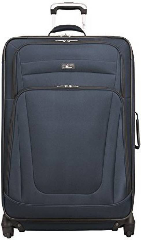 85f2e91e8 Skyway Solid Hard Body Expandable Check-in Luggage - 31 inch blue ...