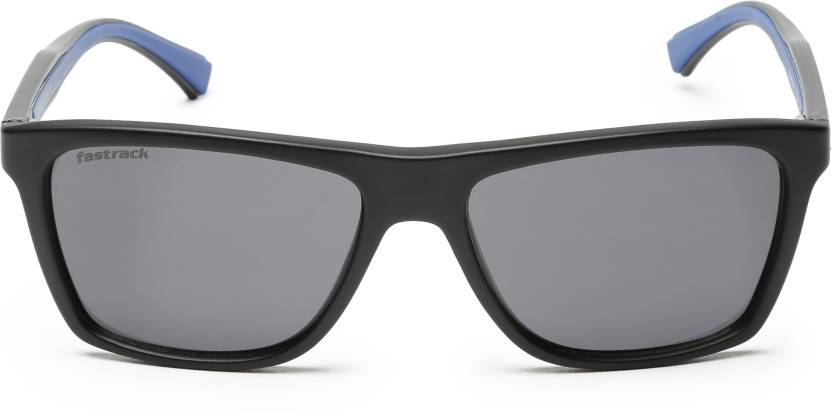 ed42347cd Buy Fastrack Wayfarer Sunglasses Black For Men Online @ Best Prices ...