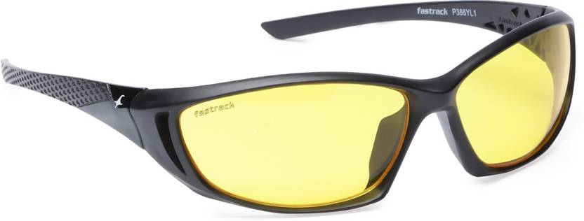 6047f2e753 Buy Fastrack Sports Sunglasses Yellow For Men Online   Best Prices ...