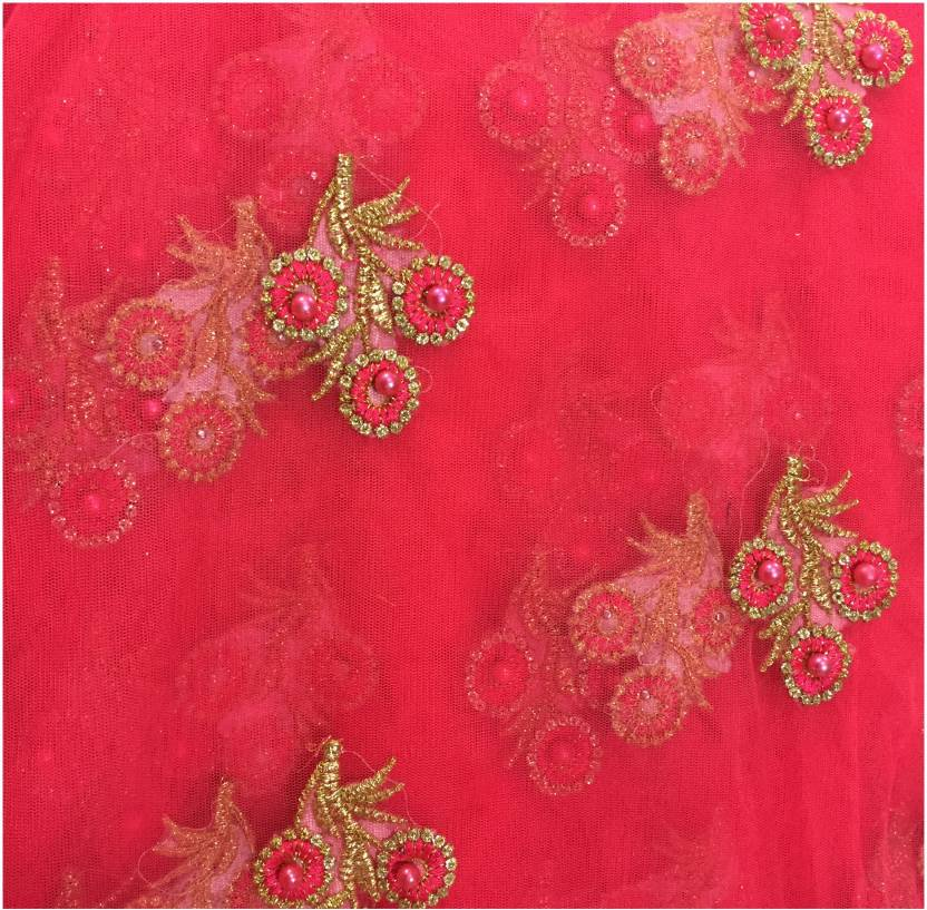 de665d37c2 Inhika Net Embroidered Blouse Material Price in India - Buy Inhika ...