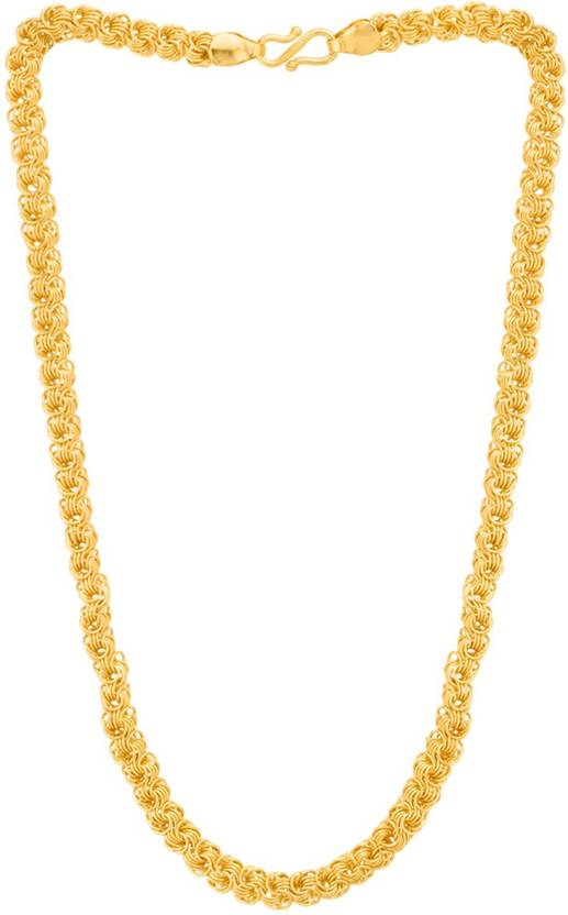 3765a9a7b Thrillz Trendy   Fancy Artificial Classic Chain for Men Boys Gold-plated  Plated Brass Chain Price in India - Buy Thrillz Trendy   Fancy Artificial  Classic ...