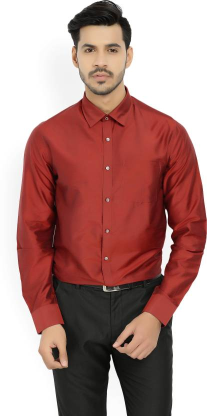 52793e0fb51 Blackberrys Men Solid Casual Red Shirt - Buy RED Blackberrys Men Solid  Casual Red Shirt Online at Best Prices in India