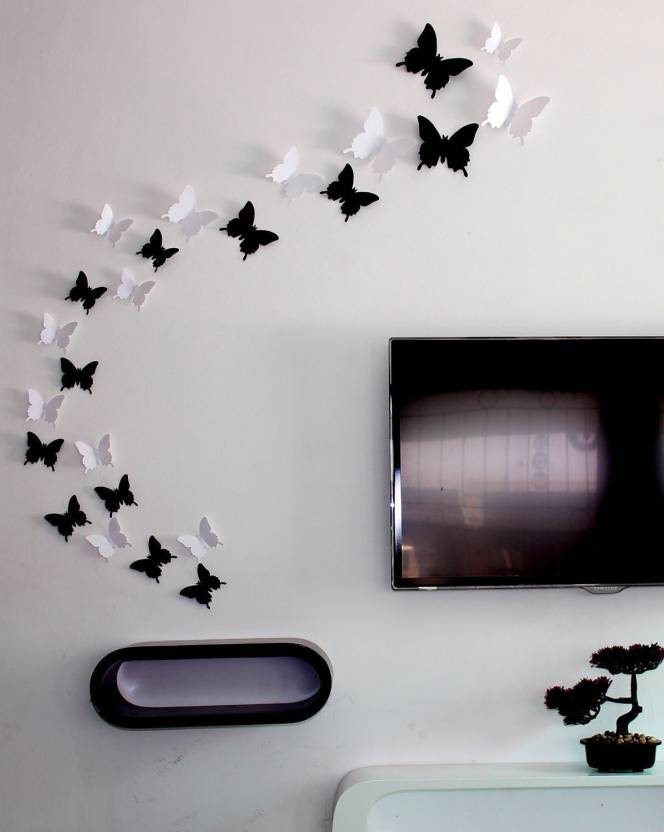 jaamsoroyals medium butterfly wall decals sticker price in india