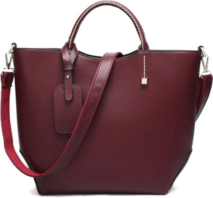 dd18c076e44fb9 Buy LACIRA Shoulder Bag Maroon Online @ Best Price in India ...