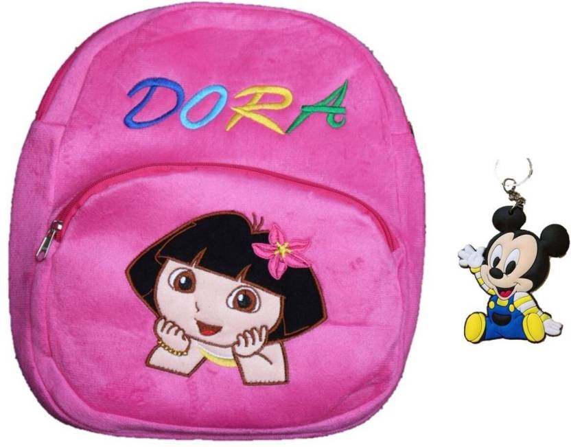 7ccc7d305b toyjoy Dora Explorer school bag 35cm for kids girls children plush soft bag  backpack cartoon - 35 (Pink)