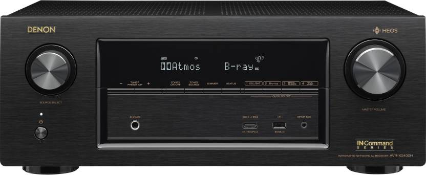 Denon AVR X-2400H 7 2- Ch  home theater receiver with Wi-Fi