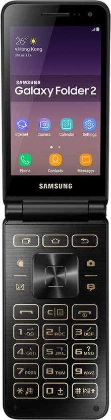 Samsung Galaxy Folder 2 (Black, 16 GB)(2 GB RAM)
