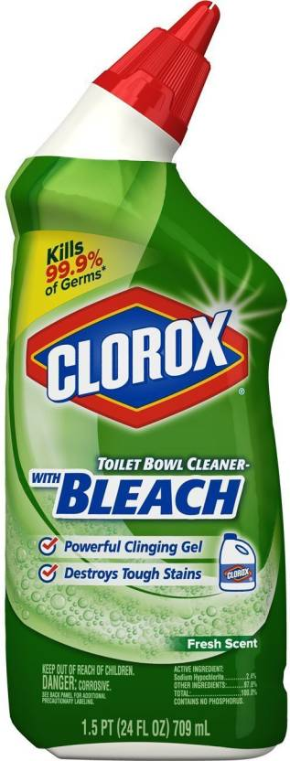 Clorox Toilet Bowl Cleaner With Bleach Fresh Scent Original Gel